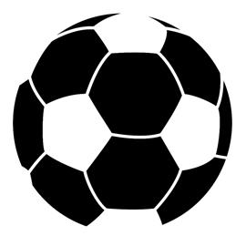 270x270 Soccer Ball Stencil Free Stencil Gallery