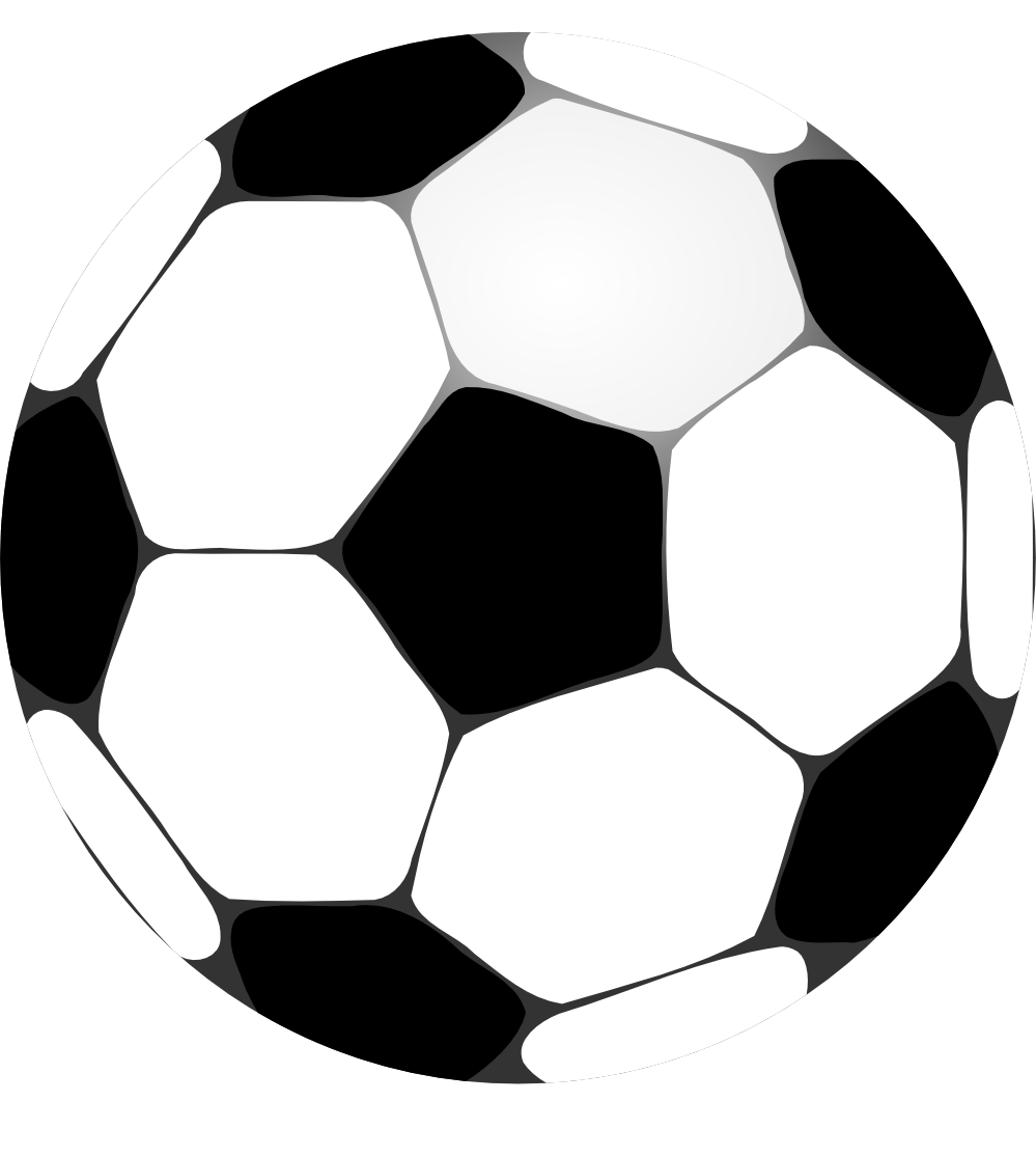 999x1114 Clip Art Football Futbolo Soccer Ball Squiggly Svg