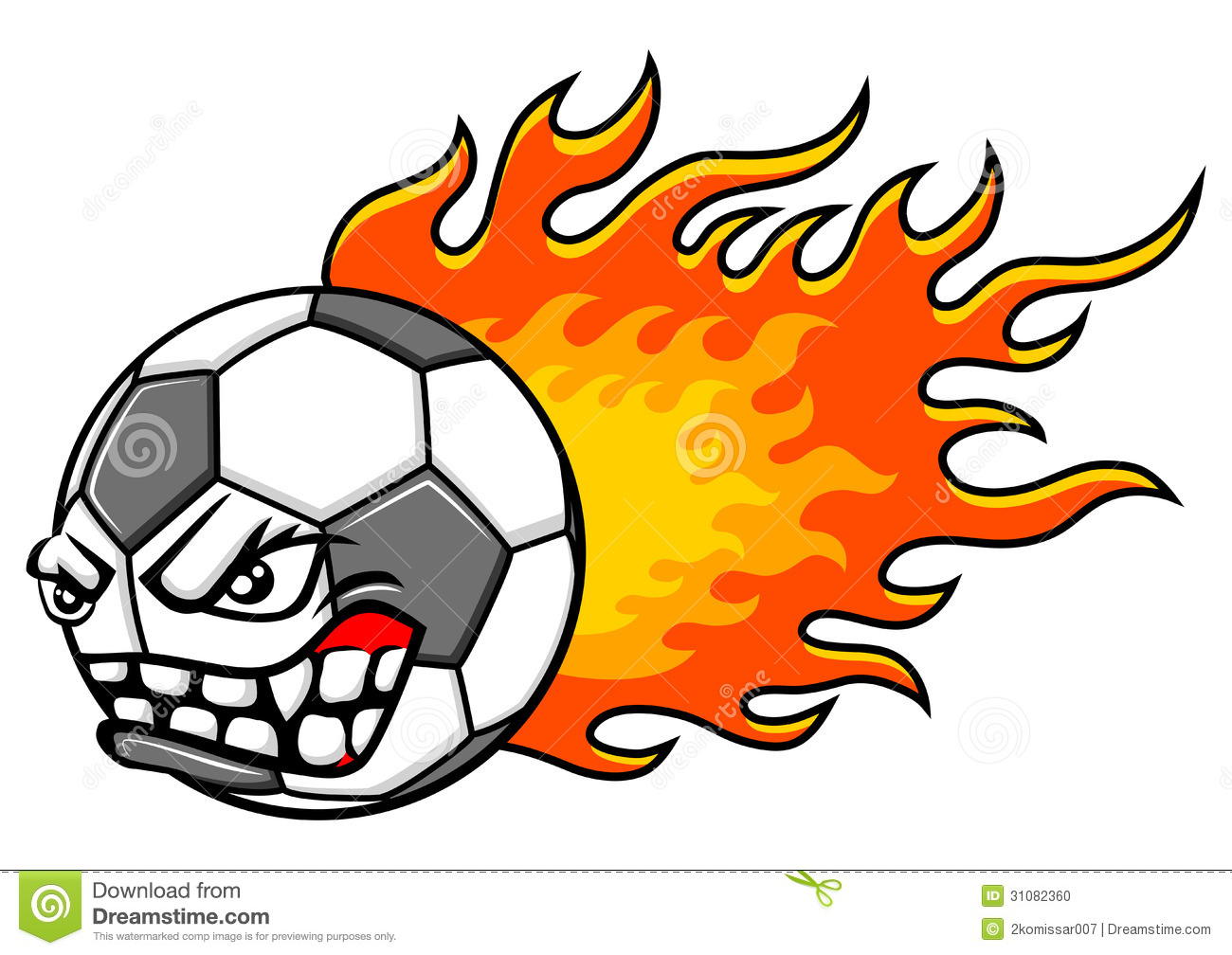 1300x1008 Flaming Soccer Ball Clip Art