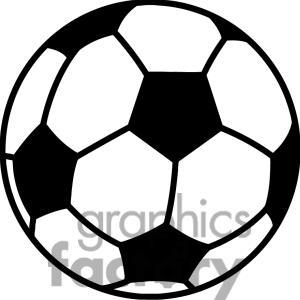 300x300 Soccer Ball Clip Art Free