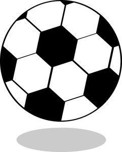 241x300 Soccer Ball Clipart Image