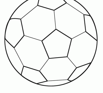 363x329 Soccer Ball Pictures To Print Coloring Home Of Balls We Are All