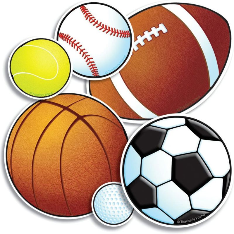 800x800 Sports bulletin boards for classrooms Sport Ball Mini Bulletin