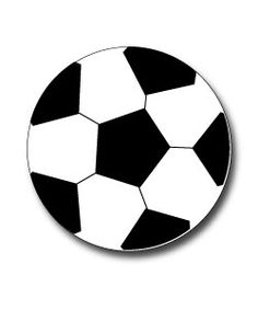 236x283 Soccer Ball Template For Thank You Card! Soccer