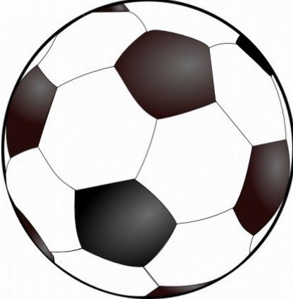 416x424 Soccer Ball Clipart Free Images 4 Clipart