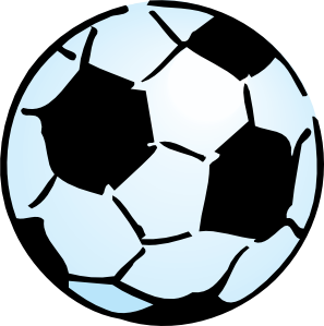 297x299 Kids Soccer Ball Clipart