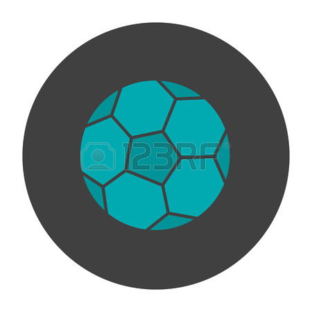 450x450 Soccer Boot And Ball Glyph Icon. Silhouette Symbol. Negative