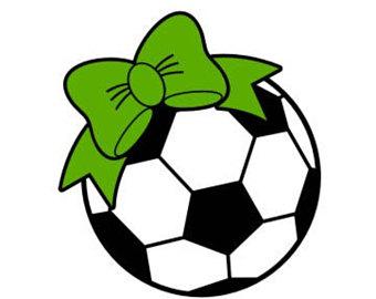 340x270 Soccer Ball Bow Svg Etsy