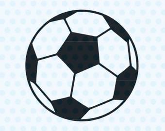 340x270 Soccer Ball Svg Etsy