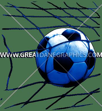 354x385 Soccer Ball Net Production Ready Artwork For T Shirt Printing