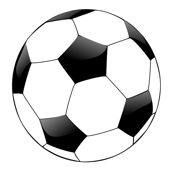 586x586 Transparent Soccer Ball Clipart