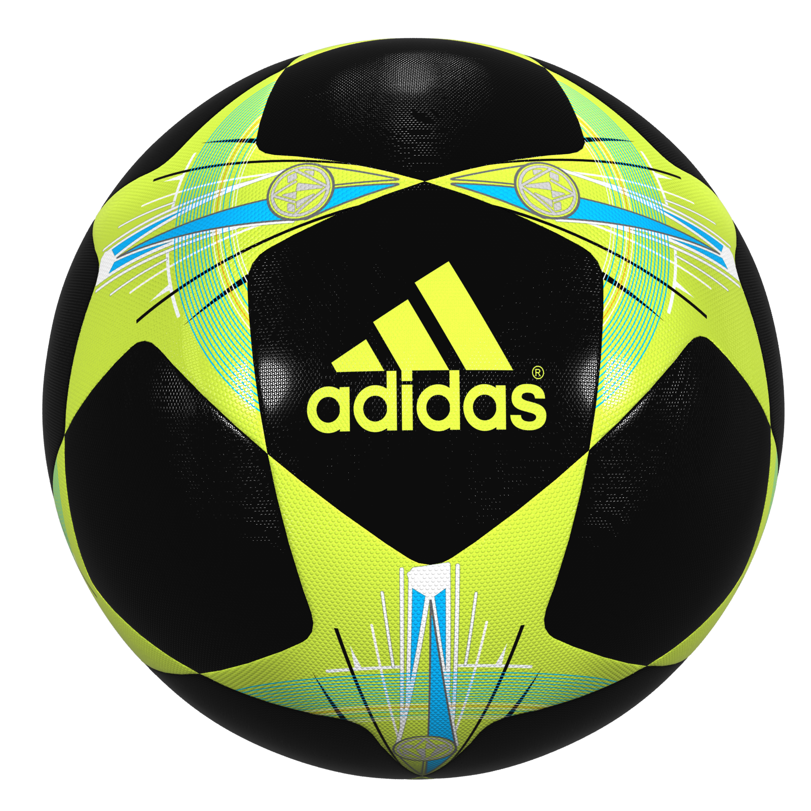 1600x1600 Champions League Soccer Ball 02 By Polygon3d 3docean