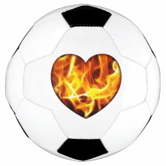 324x324 Flaming Soccer Balls Zazzle