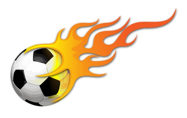 600x380 Flame clipart soccer