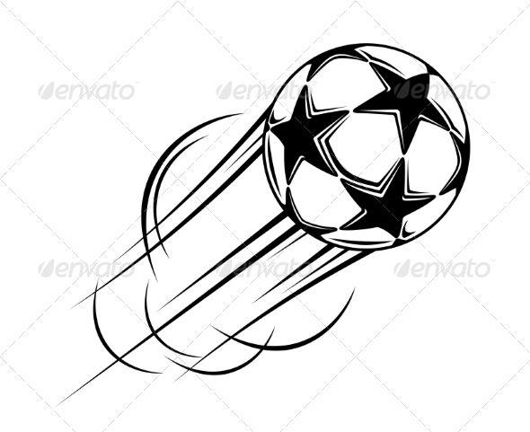 Soccer Balls Black And White