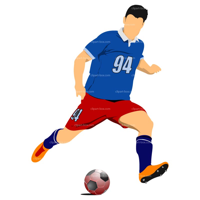 800x800 Soccer Player Clip Art Many Interesting Cliparts
