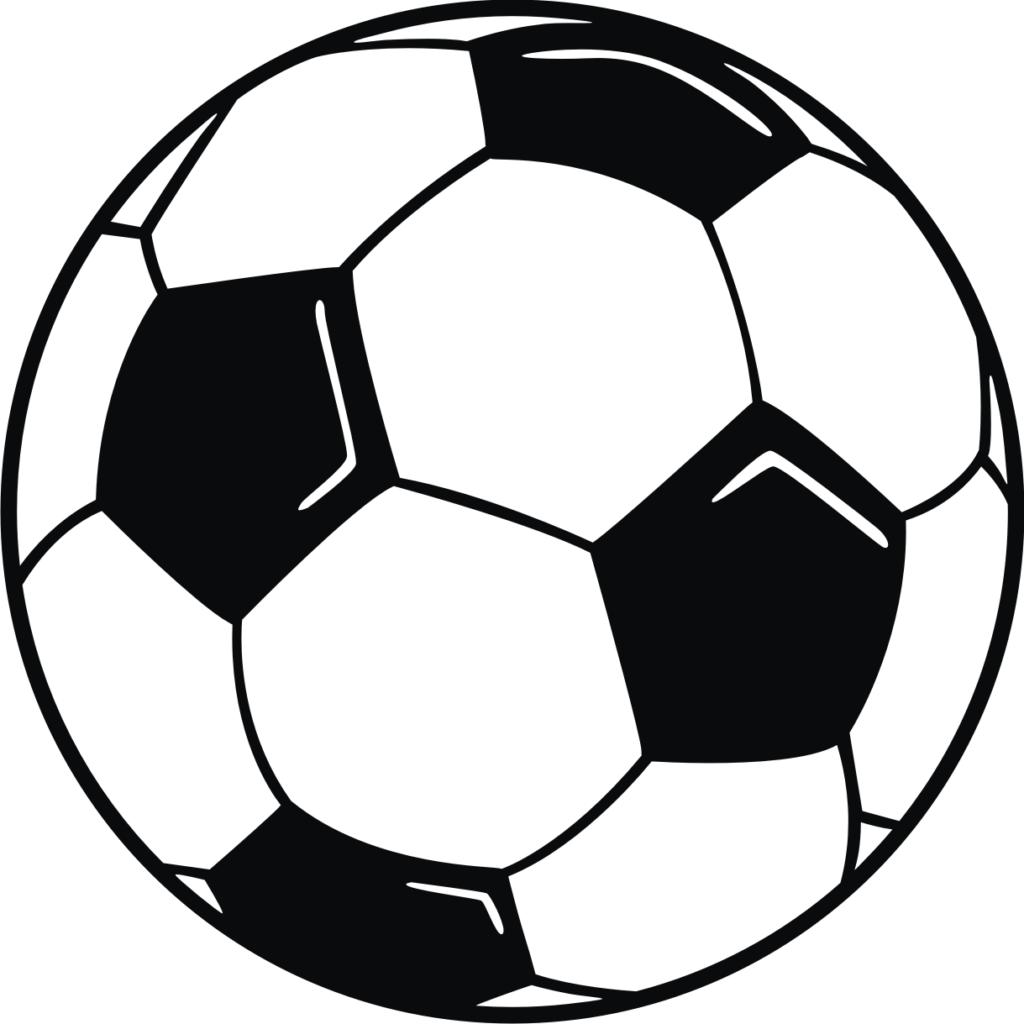 1024x1024 Vector soccer ball clip art clipart