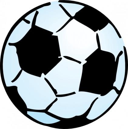 422x425 soccer ball clip art