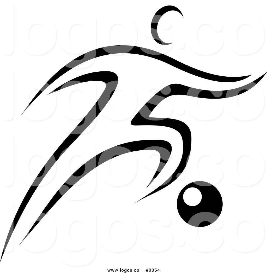 Soccer Clipart Black And White