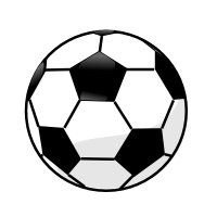 Soccer Clipart Black And White | Free download best Soccer
