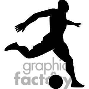 Soccer Cliparts Silhouette
