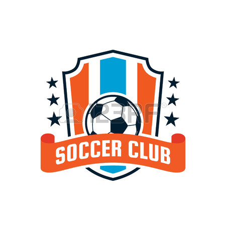 450x450 Football Badge Logo Template Design,soccer Team,vector