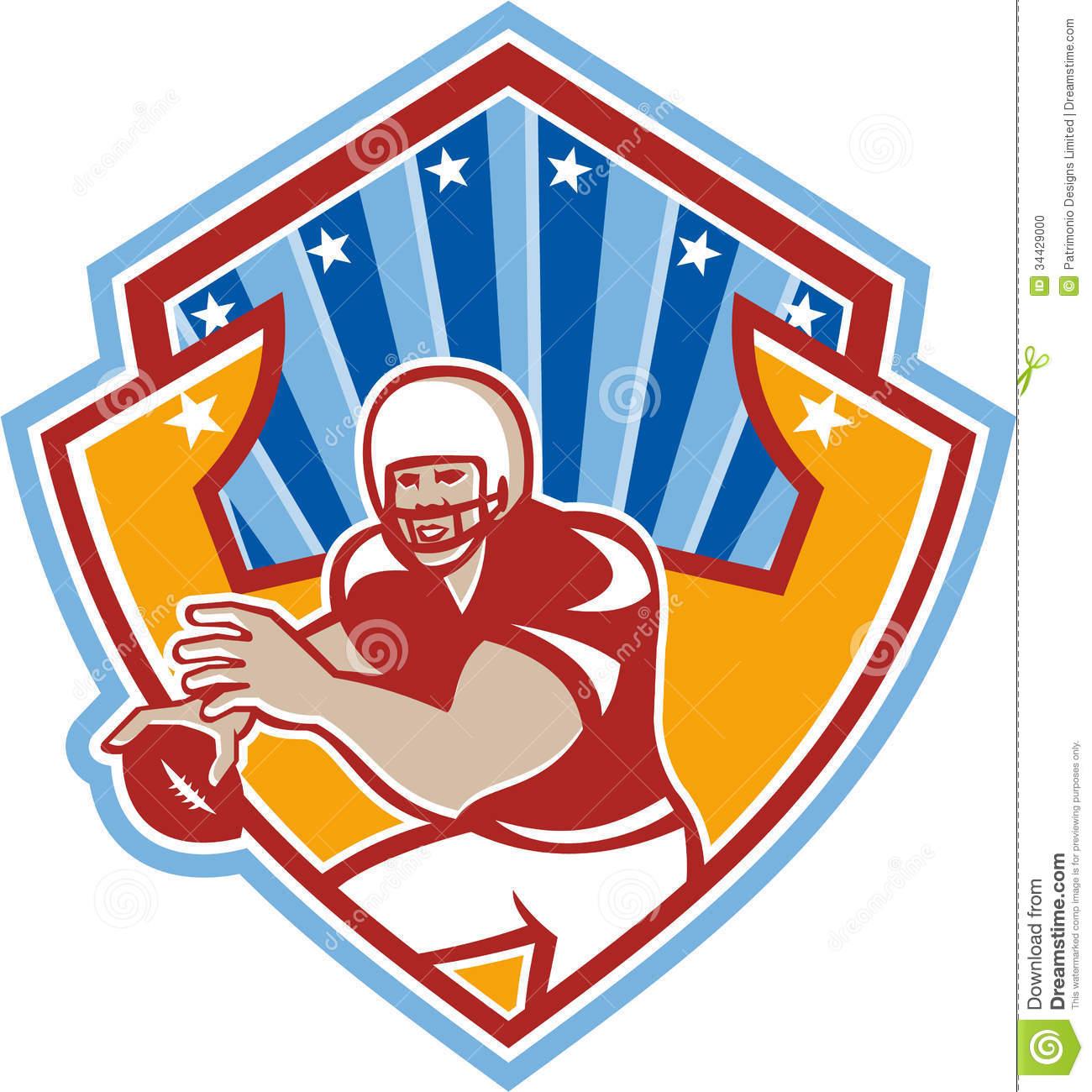 1300x1300 Football Clipart Shield