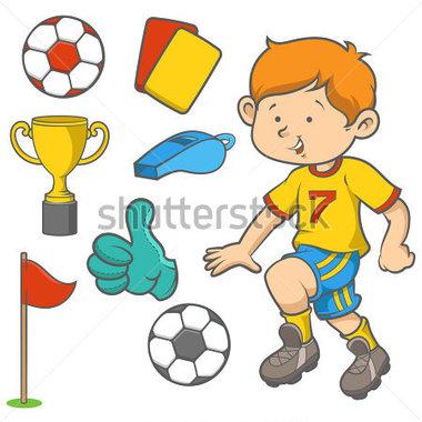 380x380 Dribbling A Soccer Ball Clip Art
