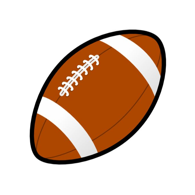 682x682 Football Game Clipart