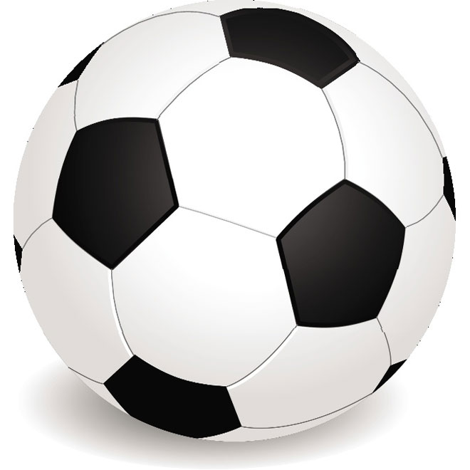 660x660 Soccer Ball Vector Clip Art