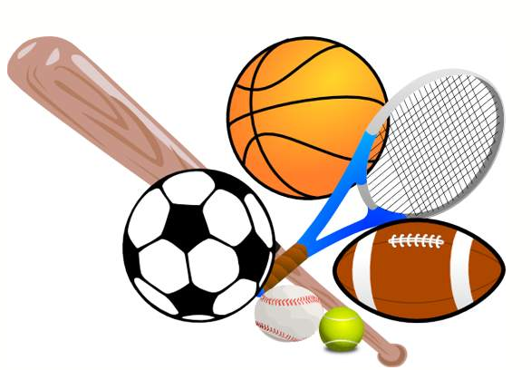 586x408 Soccer And Track Clipart