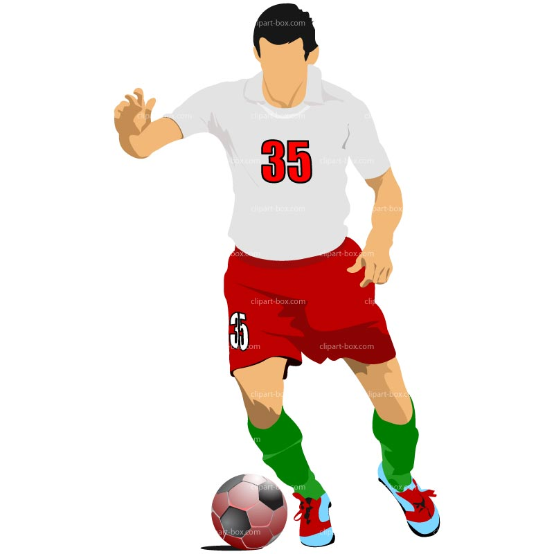 800x800 Clipart Soccer Player