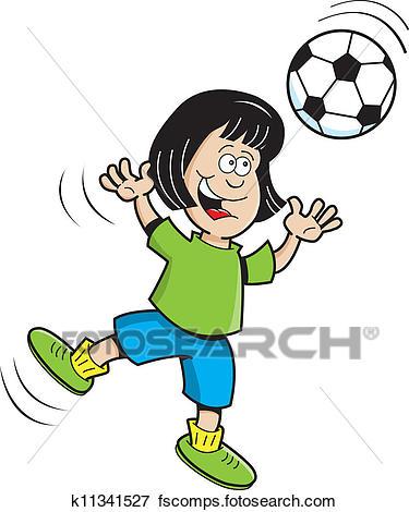 375x470 Graphics For Soccer Girl Clip Art Graphics