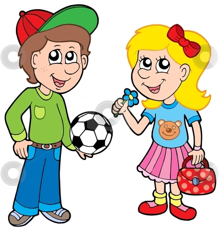 432x450 Boy And Girl Clipart Clipart Boy And Girl Many Interesting