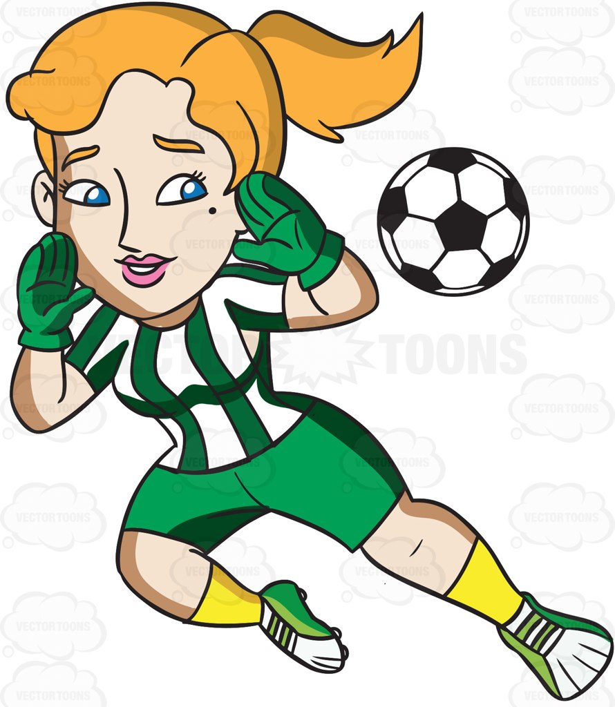 890x1024 Soccer Player Clipart