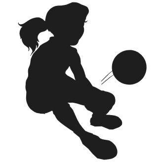 Soccer Girl Clipart