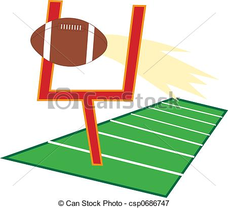 450x412 Field Goal Clipart