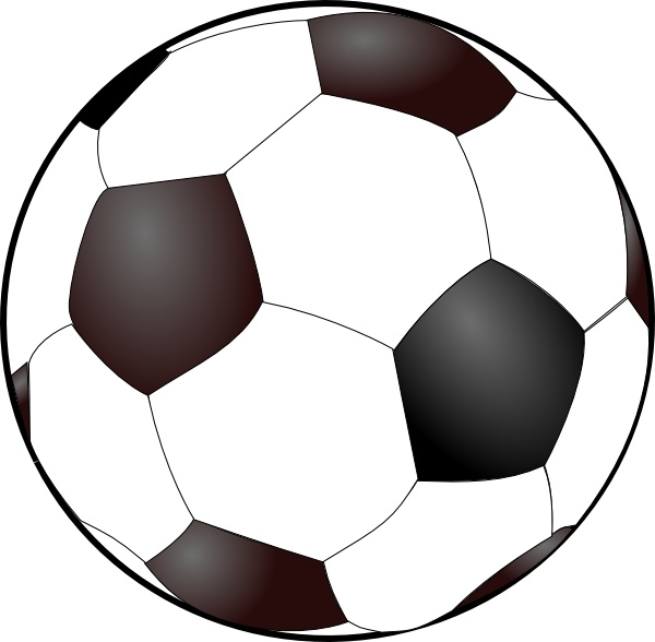 600x588 Soccer Goal Clip Art