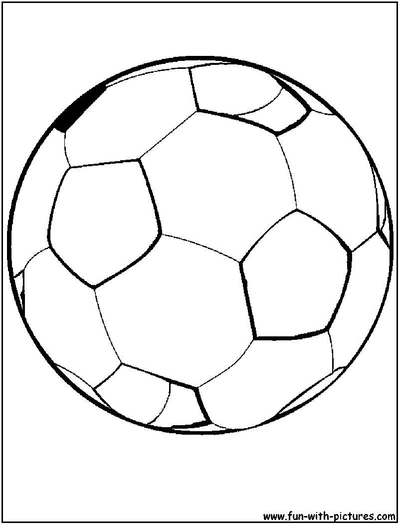 800x1050 Football Ball Coloring Pages