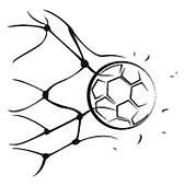 168x170 Goal Net Clip Art