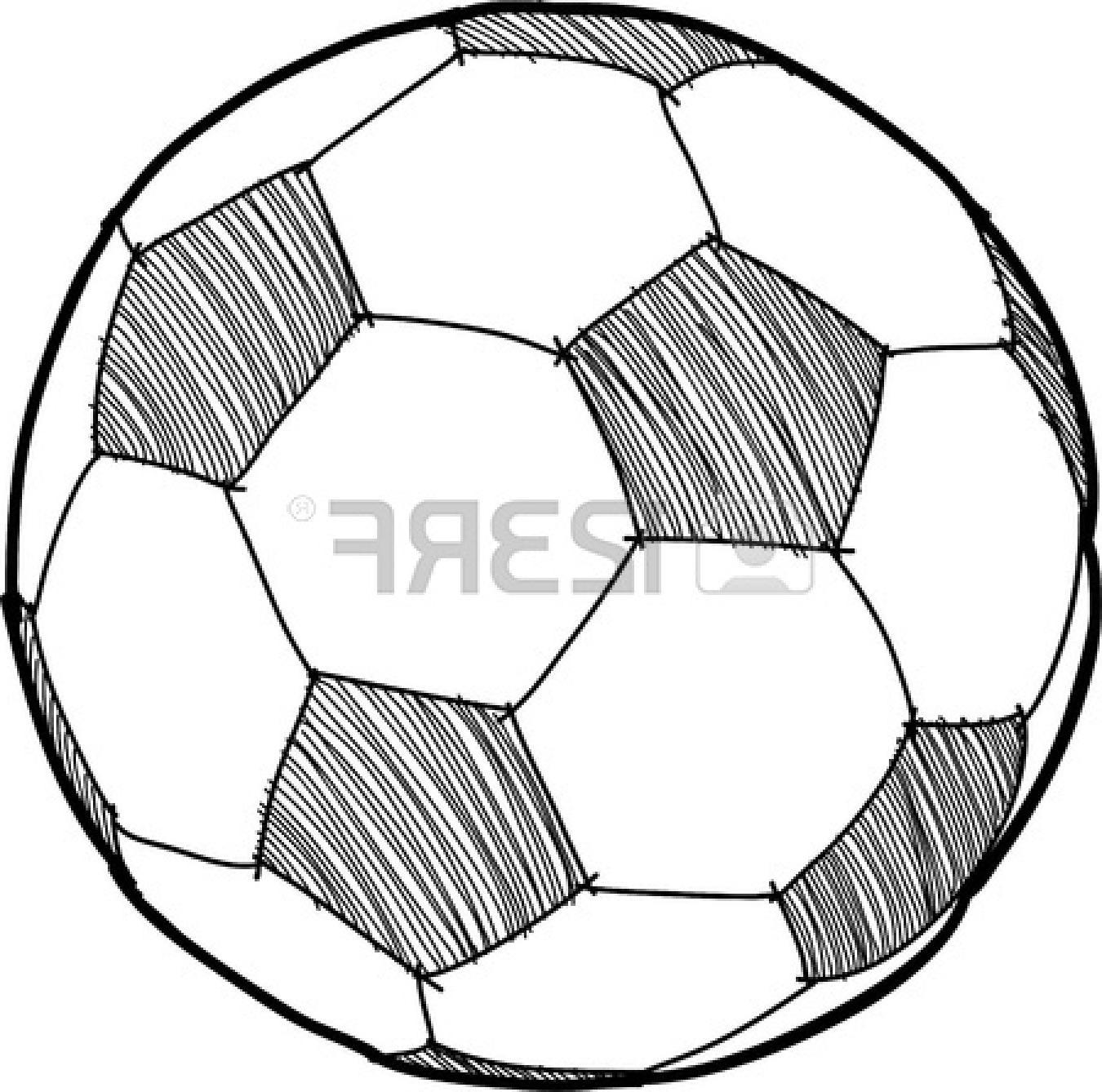 1350x1338 Hd Soccer Goal Vector Soccerball Cartoon Library