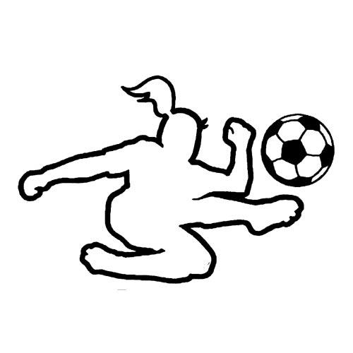 500x500 Soccer Sticker