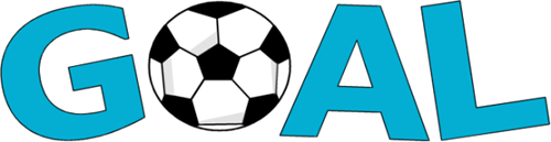 500x129 Image Of Soccer Goal Clipart
