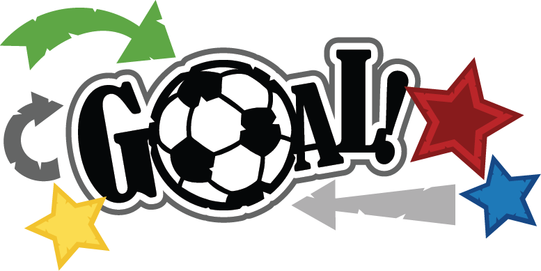 777x389 Image Of Soccer Goal Clipart