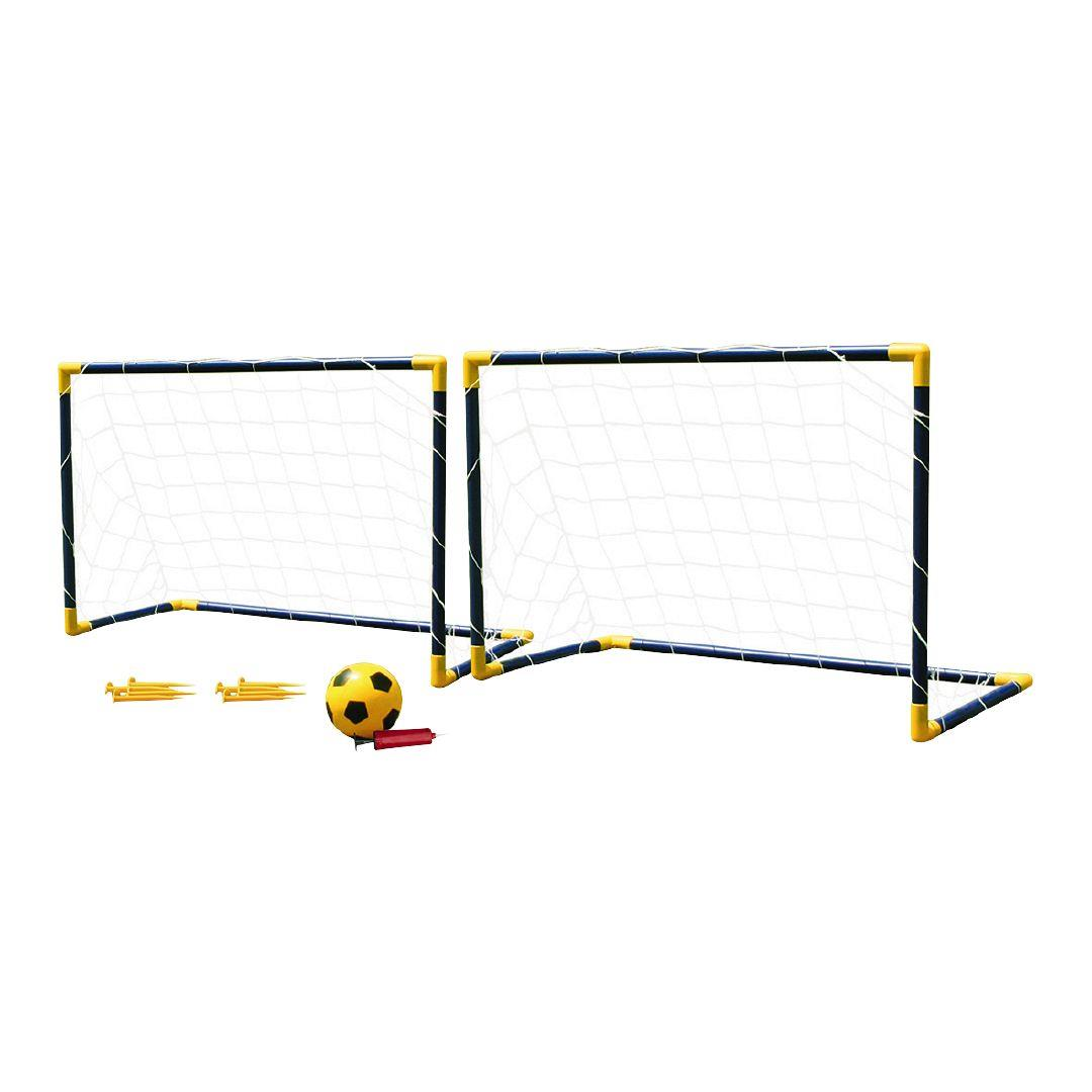1080x1080 Active Intent Twin Soccer Goal Set The Warehouse