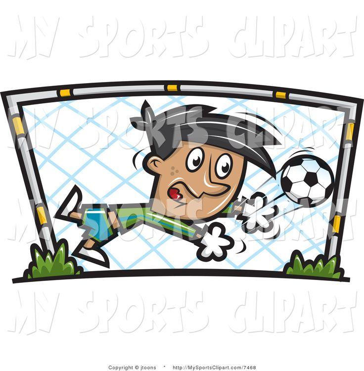 Soccer Goalie Clipart