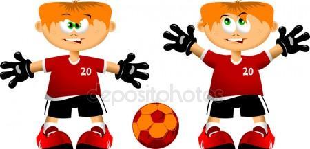 450x217 Goalkeeper Stock Vectors, Royalty Free Goalkeeper Illustrations