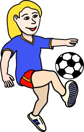 269x423 Soccer 2 Clip Art Download