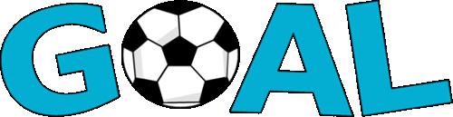 500x129 Soccer Goal Clip Art Clipart Panda