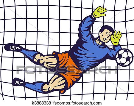 450x358 Soccer Goalie Illustrations And Clipart. 501 Soccer Goalie Royalty